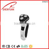 hot cheap price electric rechargeable washable shaver 3heads man shaver