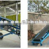 High Efficiency Small Conveying Equipment,Mobile Belt Conveyor for Pellets,Bulk Material