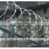 ISO9001:2008 high quality low price stainless steel razor barbed wire/ razor wire mesh (factory)