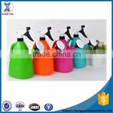 Multicolor garden triger plastic sprayer and watering can