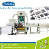electrical china aluminium foil container making machine for whole line service