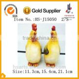 Home decorative ceramic chicken figurines as gifts 2/S