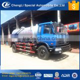 CLW 2017 newest discount price 8000 liters sewage truck for sale fecal sewer sewage tank