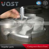 OEM high quality at a good price stainless steel types of pump impeller factory supplier