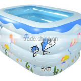 2017 Wholesale Outdoor summer big thick portable swimming pool for babies/kids/infant