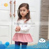 2015 baby new products kids tutu model fashion picture of children casual dress of girls