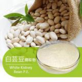 High quality Pure White Kidney Bean Extract Wholesale, Natural White Kidney Bean Extract 1% Phaseolin