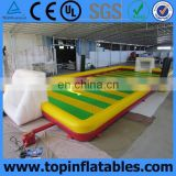 Most popular inflatable football pitch, portable football field,inflatable football arena