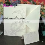 A016 Wholesale Paper Material wedding invitation card 2013