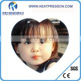5mm sublimation mouse heart shape