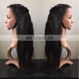 Glueless Remy Human Hair Free Part Full Lace Wig With Baby Hair Unprocessed African Braided Wig On Sale