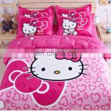 Custom korean radium printing embroidery baby fantasy jacquard bedding duvet cover set comforter