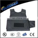 Black color Steel Alloy Knife Stab Proof Vest for use