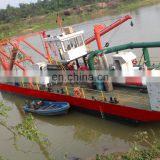 China hot sale River Sand Dredger with cutter head low price