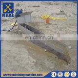 Gold mining sluice box placer gold mining equipment underflow sluice box