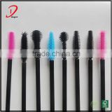 Wholesale Black/Pink /Blue Disposable Mascara Wand,Plastic Mascara Brush