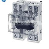 geindustrial/GE/IEC Non-Fusible Non-fusible DILOS IEC disconnect switches are designed principally for use in group mounting