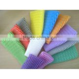 Colorful Epe Foam Fruit Net For Packaging/Foam Sleeve Net For Fuit, Bottle, Vegetable,Folower