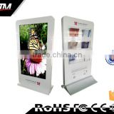 Custom Kiosks 55'' Digital Signage 4G WiFi Digital TFT Tyle indoor application Advertising Player