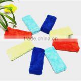 New Design Colorful Useful Microfiber Coral Fleece Little Cute Wipe Block For Window Or Car Cleaning