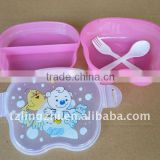 Silicone foldable soup bowls/childrens lunch box/best bento boxes
