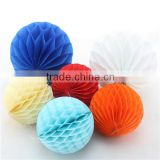 Paper Craft Honeycomb Ball Decorative Round Lantern Ball for Wedding Christmas Party Decoration