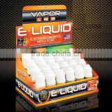 For e-liquid POP Paper Advertising Display Box,paper card board display box