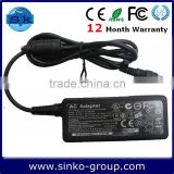 19V 1.58A Mini laptop ac adapter For hp/compaq laptop ac power charger 4.8*1.7mm