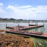 HDPE floating docks