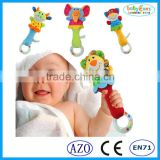 Babyfans plastic rings for baby toy lovely design baby rattles baby product
