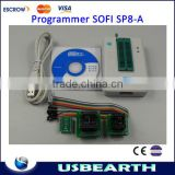 Hot Sofi SP8-A high speed usb programmer(93/24/25/BR90/SPI BIOS), universal programmer, supports over 4000 chips