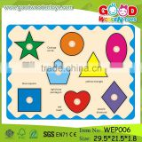 ODM & OEM wooden educational toys geometric puzzle for children