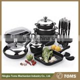 22PCS High quality cast iron cookware set