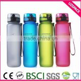 Fruit infuser water bottle translucence plastic healthy sport water bottle BPA free plastic bottle