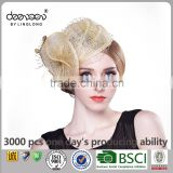 Hair Sinamay Fascinator Hats for Women Sinamay Church Hat                                                                                                         Supplier's Choice