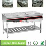 Counter top catering equipment commercial buffet food warmer showcase for soup                                                                         Quality Choice