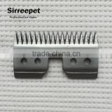 18teeth Pet clipper steel moving blade standard oster A5 blade size high quality and durable