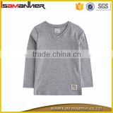 OEM service long sleeve comfort cotton boys wholesale blank t shirts                                                                                                         Supplier's Choice