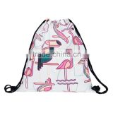 New Design Full Printed Duffel Cord Drawstring Bag