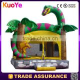 hot sale dinosaur type inflatable bounce house material