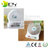 Portable USB rechargeable 2016 new design fan mini handy fan mini fan for children usb electric fan