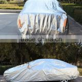 high qualtity aluminium foil car cover silver color