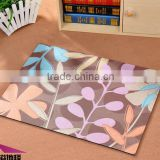 New Design Romance Style WELCOME Printing Home Textile Non Woven Fabric 100% polyester Anti-slip Bath Door Kitchen Mat