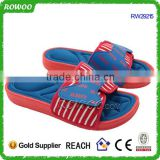 One Injection wholesale Fashion PU men flip flop for footwear