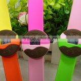 novelty biscuit silicone digital slap wristband watches with Oreo design