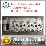lowest price & high quality Brand New Cylinder Head AMC908500 For Mitsubishi 4M41 COMMON-RAIL 3.2DC