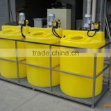 chemical dosing PE tank