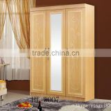 Hot sale of plate wardrobe /simple design bedroom wardrobe design/modern design bedroom furniture wardrobe