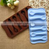 Sugar Candy Decorating Silicone Spoon Shape Chocolate Cake Mould