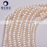 white 10-11mm fresh water cultured pearls strands wholesale for making pearl jewelry necklace